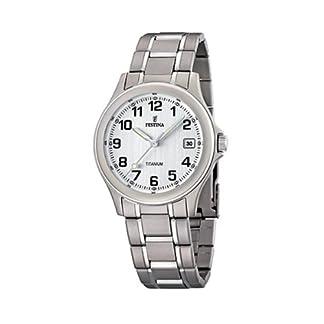 FESTINA F16458/1 – Reloj de caballero de cuarzo, correa de titanio