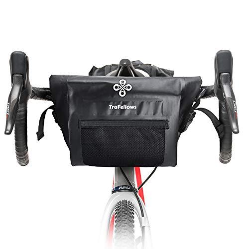 TraFellows Bolsa para Manillar de Bicicleta, espaciosa Bolsa para el Manillar de tu Smartphone, Bolsa para Bicicleta Impermeable para la Parte Delantera.