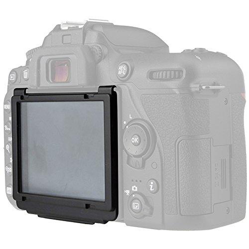 Nikon D7500 Displayschutzfolie, Snap-On Scratch Proof LCD Bildschirmschutz für (Nikon D7500)