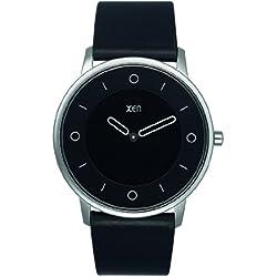 Xen Herren-Armbanduhr XL Analog Quarz Leder XQ0164