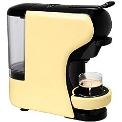 IKOHS Machine à café Expresso Italien - Cafetière Multi-dosettes Nespresso 3 en 1 Life, 1450 W, 19 Bars, Réservoir 0,7 L, Machine à Café Nespresso, Automatique, Qualité Professionnelle Life