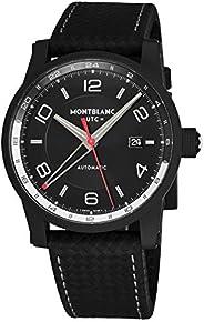 Montblanc Timewalker Men's Black Dial Leather automatic Watch - 11