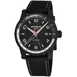 Montblanc Timewalker Urban automático negro Dial Mens Reloj 113876