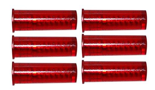 Flachberg Pufferpatronen 357 Magnum / 38 Special Kunststoff Rot (6 Stück) Pufferpatrone (M3) -