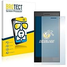 BROTECT AirGlass Protector Pantalla Cristal Flexible Transparente para Elephone P2000 Protector Cristal Vidrio - Extra-Duro, Ultra-Ligero, Ultra-Claro