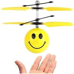 Nuevos divertidos juguetes para niños de 4-5 años, juguetes de bola de helicóptero de WIKI RC para niños de 6-12 años Juguetes para niñas de 6-12 años Regalos para niñas de 6-12 años de edad Regalos para niños de 6-12 años de edad sonríe WKUKDFQ02