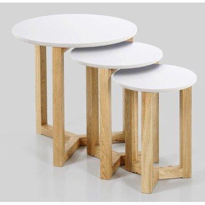 ABC home 37321 Table basse de style scandinave Multicolore