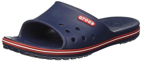 Crocs crocband 2 slide, ciabatte unisex – adulto, blu (navy/pepper), 45/46 eu