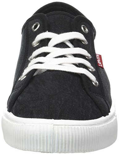 LEVIS FOOTWEAR AND ACCESSORIES Herren Malibu Bässe Schwarz (Noir Regular Black)