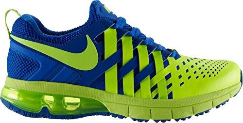 Nike - Scarpe da ginnastica Fingertrap Max, Uomo Calce/blu