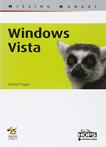 Windows Vista (Hops-Missing manual) por David Pogue