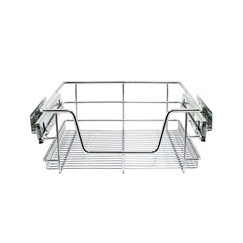 Kukoo Monster Chef 2 x Küche Pull Out Soft Close Körbe, 400 mm Breite Schränke, Slide Out Draht Schubladen (Pull-out-körbe)