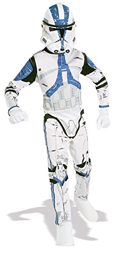 501st Clone Trooper Kinderkostüm aus Star Wars, (Kostüm 501st Trooper)