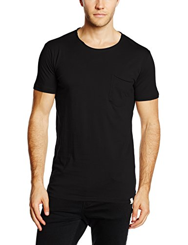 Shine Original Herren T-Shirt Dyed & Washed Out Tee S/S Schwarz (Black), X-Large Preisvergleich