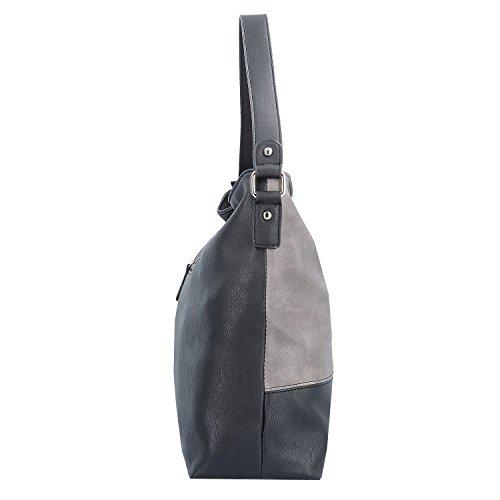 Sina Jo borsa a tracolla 37 cm black kombi