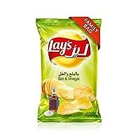 Lay's Salt & Vinegar Potato Chips 170gm