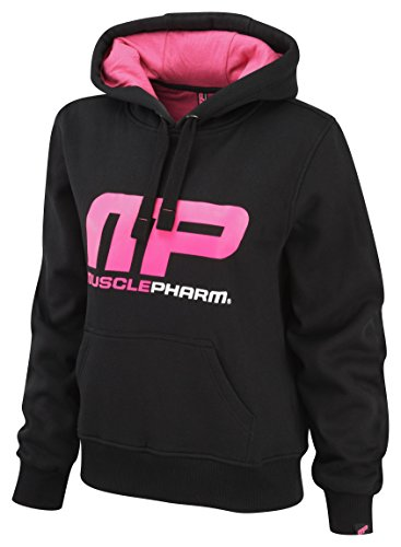 musclepharm-womens-overhead-hooded-sweat-shirt-black-hot-pink-small