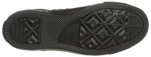 Converse Chuck Taylor All Star, Sneaker a Collo Alto Unisex – Adulto Schwarz (Black/Black/Black)