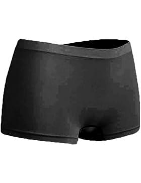 R-dessous - 6 bragas de microfibra para mujer, color negro