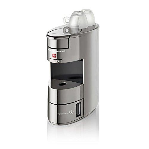 Illy X9 IPERESPRESSO - Caffettiere (freestanding, macchina da caffè Pod, capsule di caffè, argento, alluminio, cromo, espresso)