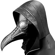 ea4fbedd1 AOLVO máscara de Doctor de Plaga, máscara de Pico de pájaro de Nariz Larga  máscara