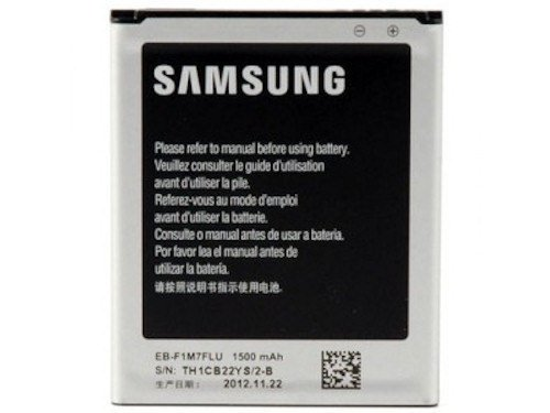 Akku Original Samsung EB-L1M7FLU LiIon Samsung Galaxy S3 Mini NFC