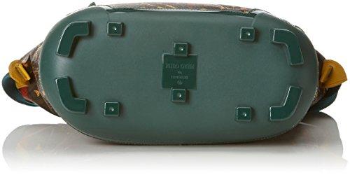 piero guidi Be Magic, Borsa a Mano Donna, 29 x 31 x 13 cm (W x H x L) Verde (Sottobosco)