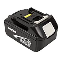 DeroTeno 18V 4.0Ah Li-ion Replacement Battery for Makita BL1830
