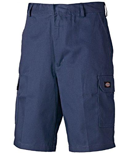 ► Dickies Redhawk Cargo Shorts ◄ verschieden Farben, WD834, 260gr/m² (46, Marineblau)