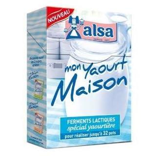 Alsa–Joghurtbereiter–Mein Joghurt Haus–ferments Milchsäurebakterien Spezial Joghurtbereiter