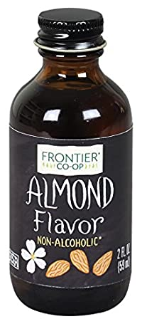Frontier Herb 4 Ounce Almond Flavor