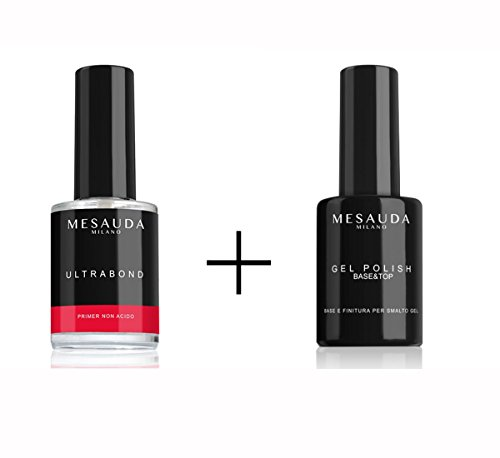 Scopri offerta per MESAUDA MILANO NAILS KIT BASE & TOP 14ML + ULTRABOND PRIMER UNGHIE 14ML