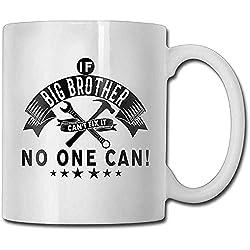 Wenn Big Brother Cant Fix Es Niemand Kann Kaffeetassen Engagement Geschenk Keramik Teetasse Kaffeetasse, Das Perfekte Geschenk Für Die Familie
