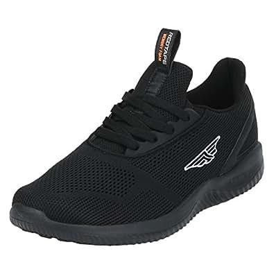 Red Tape Men's Black Running Shoes - 9 UK/India (43 EU)(RSC0341)