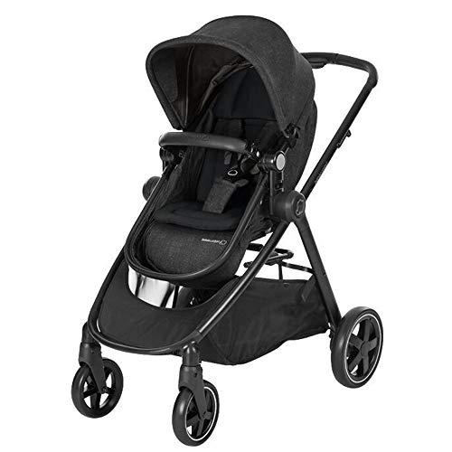 Bébé Confort ZELIA 'Nomad Black' - Cochecito urbano 2 en 1, diseño compacto, sistema...