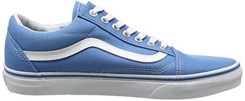 Vans Ua Old Skool, Scarpe da Ginnastica Basse Unisex – Adulto Blu (Canvas Cendre Blue/true White)