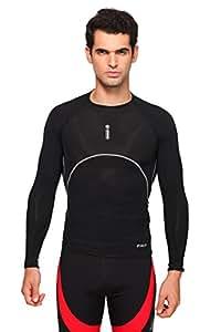 Men's full sleeve Cricketer Inner (BLACK, M)