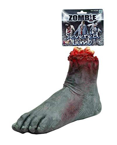 Abgetrennter Zombie Fuß - Horror-Shop Abgetrennter Zombie