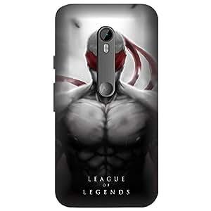 Koolbug League of Legends Hard Polycarbonate Designer Back Case Cover For Motorola Moto G4 Play (4th Generation)