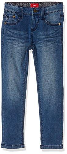 s.Oliver Jungen Jeans 63.710.71.2956 Blau (Blue Denim Stretch 56Z7), 128 (Herstellergröße: 128/SLIM)