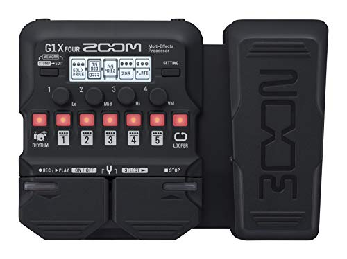 Zoom G1x Four/UK Guitar Multi-Effects Pedal
