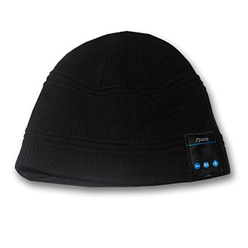 Rotibox 7-hi Outdoor Bluetooth Beanie - Washable Wireless Hat Cap with Built-in Stereo Speakers - Sports/running Skiing Skating Hiking & Gym/exercise Fitness & Lifestyle/walking Working Out Travelling - Speakerphone - Bluetooth Headphones Headsets Earphone W/microphone Hands Free Phone Calls for Iphone 6, 6 Plus, 5s 5c 4s 4, Ipad 2 3 4 New Ipad Air, Ipad Mini, Ipod, Android, Samsung Galaxy Note4 S5 S4, Htc, Lg, Nokia, Blackberry, Sony, Motorola, Smart Phones Bluetooth Devices for Valentine s Day  available at amazon for Rs.6633