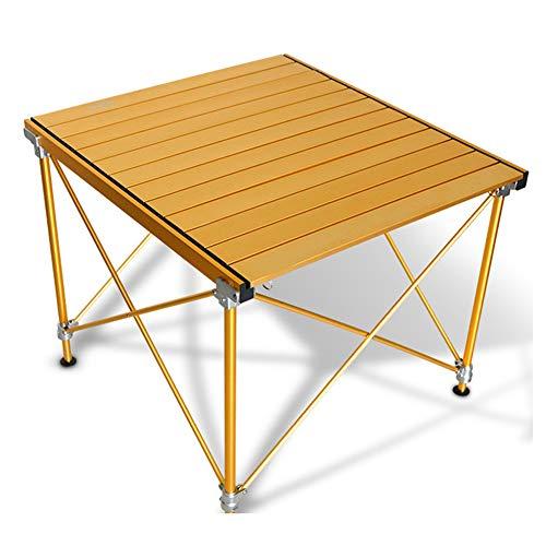 SHKY Aluminiumlegierung Klapptisch - Outdoor Einfacher Klapptisch - Tragbarer Picknick-Ecktisch - Picknick im Freien/BBQ/Gartenparty/Auto-Boot-Selbstfahrer-Tour
