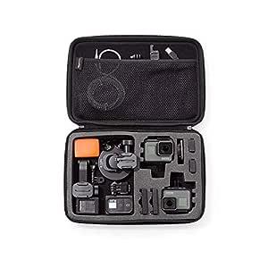 AmazonBasics Large Carrying Case for GoPro,Black