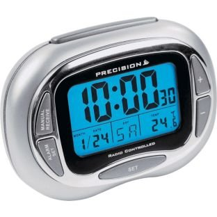 Precision Radio Controlled LCD Alarm Clock (225547500) Best Price and Cheapest