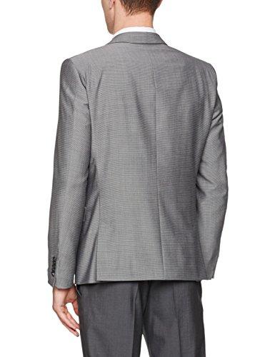 Strellson Premium 11 Allen 10000451, Veste de Costume Homme Silber (Silber 041)
