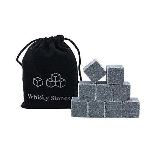 Pudincoco Whisky Eiswein Steine   Whisky Stein Eiswürfel Marmor Eisstein EIS Stadt Stein