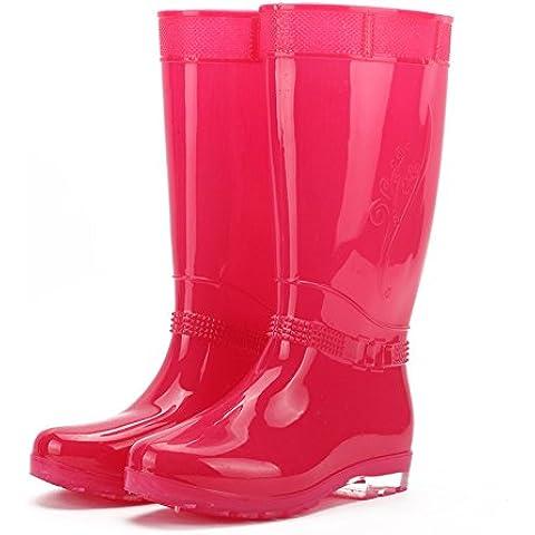 Stivali da pioggia donna scarpe da acqua