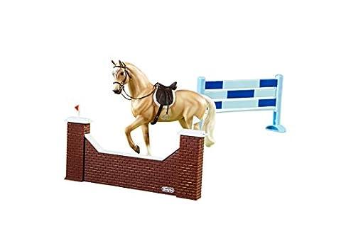 Breyer B61058 Classics 1:12 Scale Classics Show Jumping Horse Set