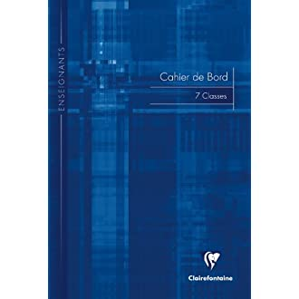 Clairefontaine 3119 °C Edge Teachers Book 48 Pages Quadrille-Ruled Notebook -21 x 29.7 cm